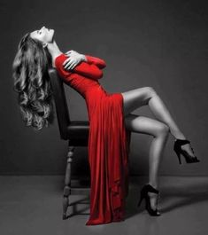 Tagged - The social network for meeting new people Edgy Dress, Winter Cardigan, Oscar Wilde, Stand By Me, Ankle Strap Sandals, Color Splash, Red Colour, Lingerie, Black And White