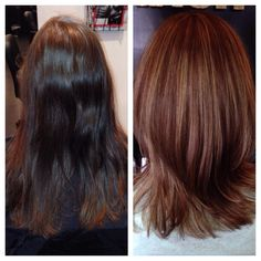 #beforeandafter #ilovecolor #colorist #hairstylist