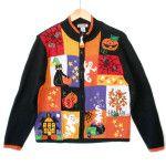 Happy Face Tree Tacky Halloween Ugly Sweater - The Ugly Sweater Shop Sweater Shop, Ugly Sweater, Sweaters For Women, Halloween, Face, Happy, Jackets, Shopping, Fashion