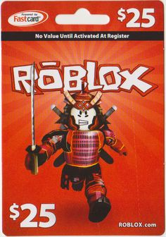 Roblox $25 card. Available at most Walmarts.
