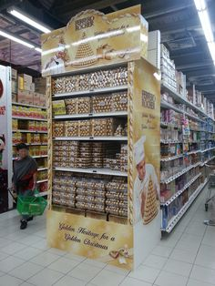 Supermarket Design | Promotional Ends | Promo End Fixture | Ferrero