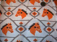40s Feedsack Cotton Vintage Feedsack Fabric by linenslaceandlattes
