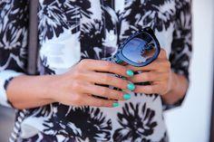 VivaLuxury - Fashion Blog by Annabelle Fleur: SPLASHY FLORAL