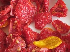 So-So Tomatoes Become Excellent When Dried