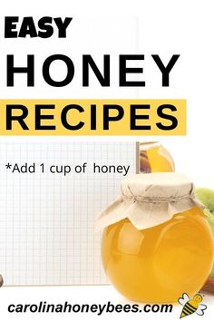 Enjoy cooking with honey and prepare healthy delicious dishes that are naturally sweet.  These honey recipes are easy to make and sure to please.  #carolinahoneybees #cookingwithhoney #honeyrecipes Moist Baked Chicken, Chicken Tender Recipes, Honey Recipes, Real Food Recipes, Snack Recipes, Food For Chickens, Hardy Meals, Cooking With Honey, Calories In Sugar