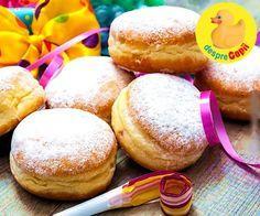 10 retete de gogosi pufoase Romanian Food, Romanian Recipes, Food Cakes, Easy Desserts, Doughnut, Feta, Donuts, Slow Cooker, Foodies