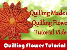 Quilling, Learn Beginners Quilling for Scrapbooking with Free ...
