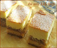 In my kitchen: Sernik z jabłkami