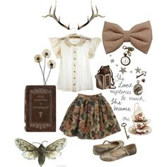 """""""Into the trees"""" by dollydust on Polyvore"""