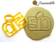 Football Trophy Cookie Cutter/Multi-Size by Francesca4me on Etsy
