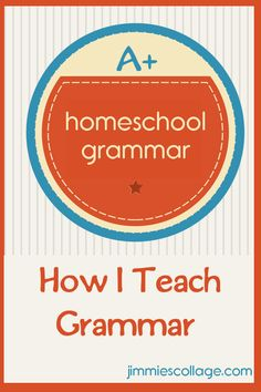 grammar for homeschool Great links for resources, worksheets, and projects here