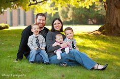 Family of 5 pose, photography {Bethany F Photography}