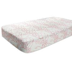 aden + anais rayon from bamboo fiber muslin crib sheet, tranquility - leafy Aqua Bedding, Baby Nursery Bedding, Nursery Bedding Sets, Crib Bedding, Modern Crib, Cot Sheets, Nursery Inspiration, Babys, Cribs