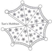 Umbrella Parchment Craft ~ Tan's Hobbies