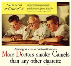 Annie Belle -first pinner of that pict- wrote: 'Honestly I'm just posting this because the young doctors are hot, but it's interesting that nobody is actually holding a cigarette, and hot.