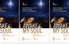 """Poster per concerto natalizio della Scuola """"A. Merici"""" di Desenzano del Garda (BS) con il patrocinio della stessa città."""