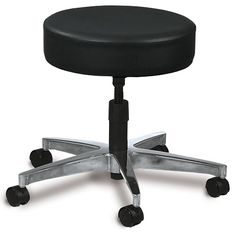 Techno-Aide - BAS-40 - Screw Adjustable Seat Stool 5 Leg