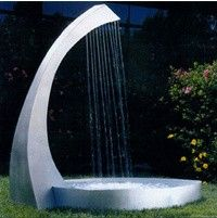 Water HARP Fountain wonder if dad would like to build this! Know the g-babies would love to play here.