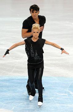 """Maxim Trankov   Tatiana Volosozhar and Maxim Trankov of Russia perform to """"Bring Me ..."""
