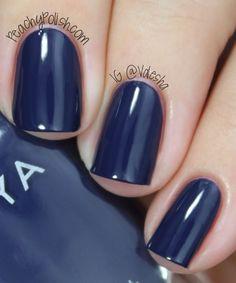 Zoya Sailor All Things Beauty, Girly Things, Girly Stuff, Blue Nail Polish, Nail Polish Collection, Dream Nails, Pedicure, Nail Colors, Swatch