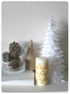 1. Triforce (and Comic Book) Candles