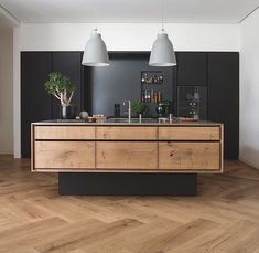 Love love love Danish kitchen design