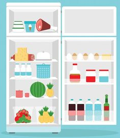 """30 Minutes to an Organized Fridge! A shelf-by-shelf guide to keeping food fresh. If your fridge protocol is """"out of sight, out of mind,"""" it's time for a reorg. Give every item a proper place to land with our guide on how to organize your refrigerator—and keep it clean!"""