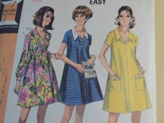 1970 Maternity Dress Vintage McCall's Sewing by DaisygatorHome, $5.00