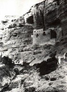 Jericho-أريحا: دير سانت جورج 1898