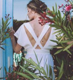 Robe de mariée 2016 : la robe croisée dans le dos de Lorafolk