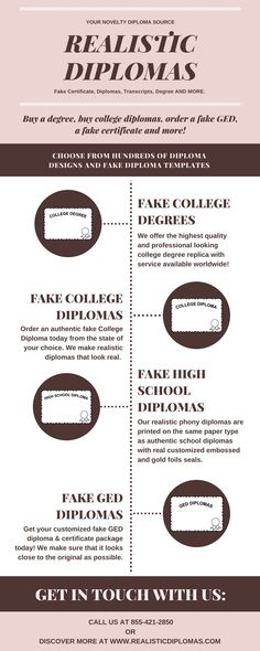 Best Realistic Diplomas Images On Pinterest - Fake ged diploma template