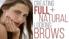 Full brows are a trend that's not going anywhere. Learn in this tutorial how to fill in your eyebrows with a pencil for a look that's natural and on point! Tweezing Eyebrows, Thick Eyebrows, Threading Eyebrows, Perfect Eyebrows, Eyebrow Grooming, Eyebrow Kits, Eyebrow Pencil, Eyebrow Makeup, Make It Simple