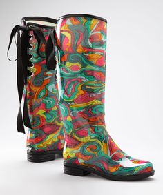 Ed Hardy Fuchsia Ghost Skull Rain Boot. Can someone buy me these