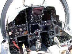 McDonnell Douglass F-15E Strike Eagle (1988) - Evolution Of The American Jet Fighter Cockpit Best of Web Shrine