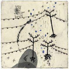 Kumi Obata - etching