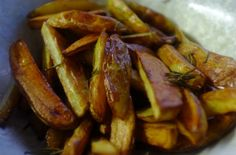 Goose Fat and Rosemary Garlic Potato Chips
