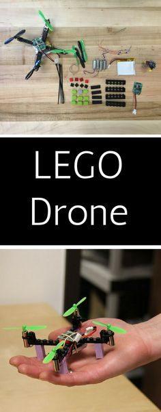 Make your own Lego Drone Electronic Kits, Build Your Own, Diy Kits, Im Not Perfect, Lego, How To Make, Science, Boys, Diy