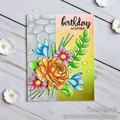 The Unpampered Stamper: More Spring Flowers - Simon Says Stamp