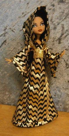 Robe de lutin capuche pour filles haute monstre par moonsight68