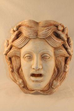 Medusa ceramic mask