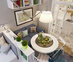 Casa - Decorando apartamentos pequenos;