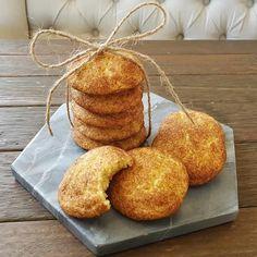 Cinnamon Doughnut Cookies