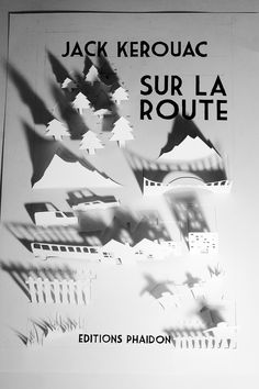Jack Kerouac // Sur la route by Maxime Beldent, via Behance
