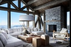 Cozy Living Room Decor for Small, Modern, Boho or Rustic Living Rooms Chalet Design, House Design, Chalet Style, Chalet Interior, Interior Design, Interior Decorating, Decorating Ideas, Cozy Living Rooms, Living Room Decor