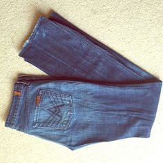 7 for all mankind boot cut jeans Boot cut jeans 7 for all Mankind Jeans Boot Cut