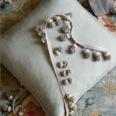 grey Fringe Tassel Trim Upholstery Curtain lamp chair trimmings bag costum trims