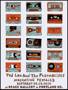 Ted Leo & the Pharmacists Poster - Kris Johnsen