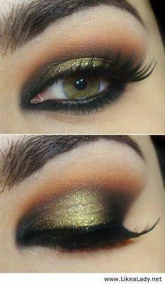 Interesting color for makeup