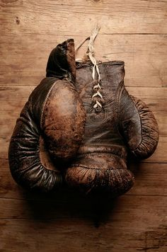 Dad was a Golden Glove Champion Boxer when he was in the service in WWII. Fortunately it didn't last any longer than that. ;))