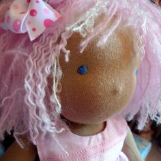 Megumi Sweet Child doll by Jenny Marshall by littlejennywren